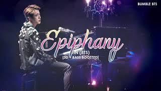 [3D+BASS BOOSTED] BTS (방탄소년단) JIN - EPIPHANY (FULL LENGTH VER.) | bumble.bts