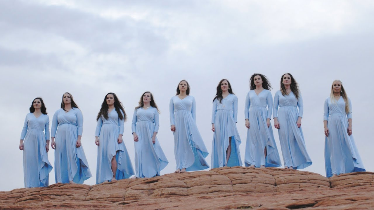 Choir Of Women Sing A Cappella Rendition Of 'I Can Only