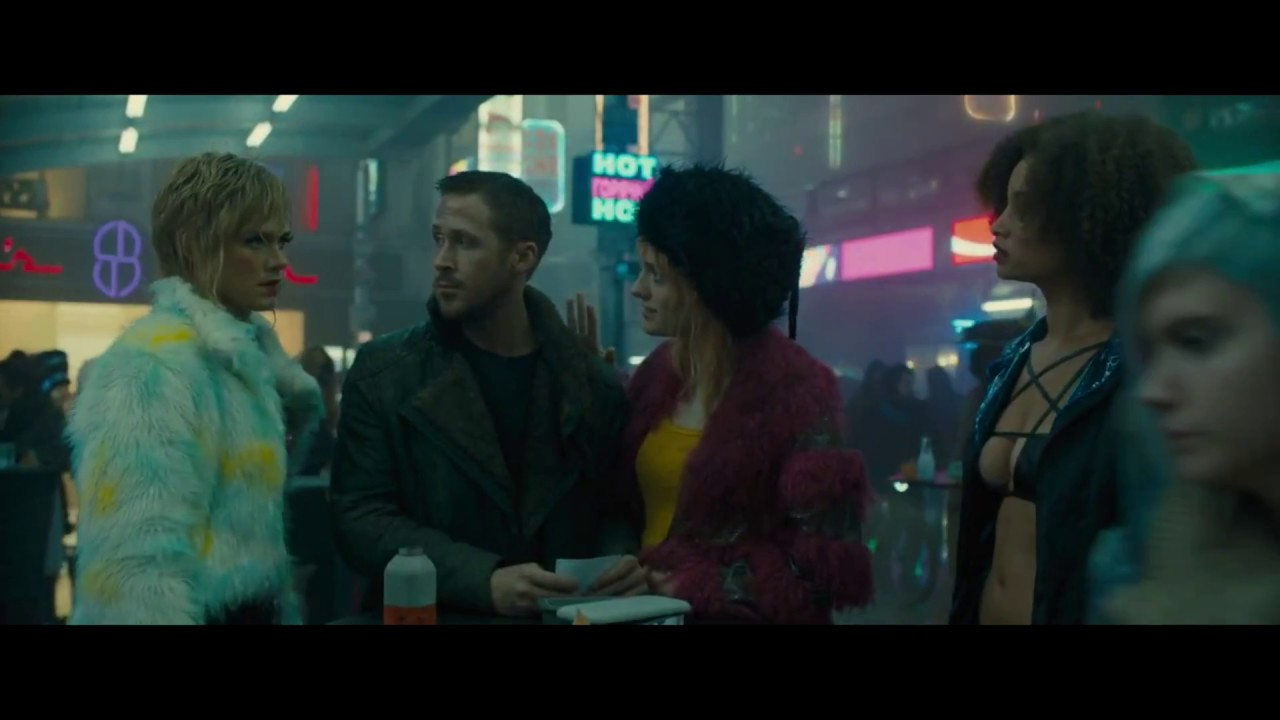 Blade Runner 2049 Escort girl speaking Finnish