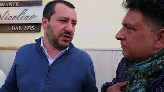 Stefano Leone intervista Matteo Salvini