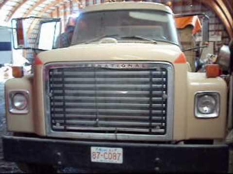 1977 International Loadstar 1700 Cold Start  YouTube