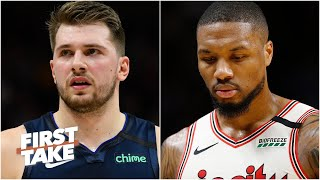 Damian Lillard deserved NBA All-Star starting spot over Luka Doncic - Stephen A. & Max | First Take