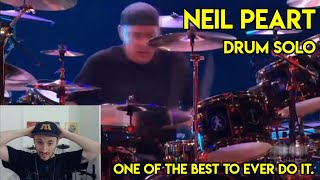 Drum Teacher reacts to Neil Peart Drum Solo Live in Frankfurt