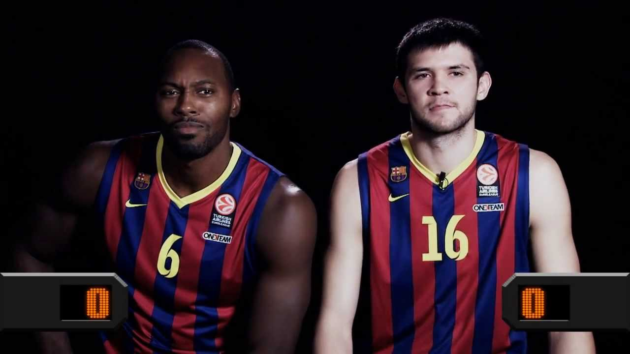 hot sale online 0c655 0aaeb Who said newcomer? Joey Dorsey vs. Kostas Papanikolaou, FC Barcelona