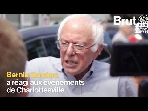 Charlottesville : Bernie Sanders condamne Donald Trump