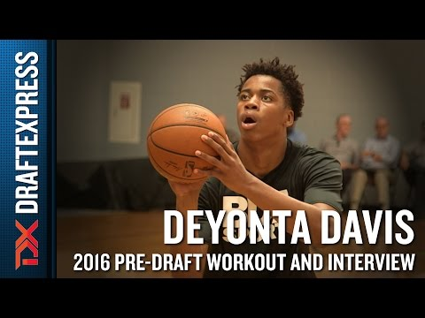 Deyonta Davis 2016 NBA Pre-Draft Workout Video and Interview (extended version)