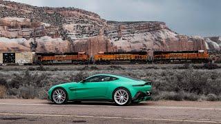 RECORRÍ MÁS DE 1,000 KMS EN UN DÍA!!! (Cruzando EUA en mi Aston Martin)