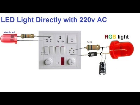 LED Directly With 220v AC