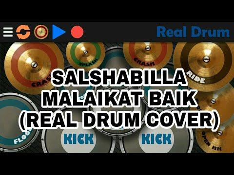 Salshabilla - Malaikat Baik (Real Drum Cover)