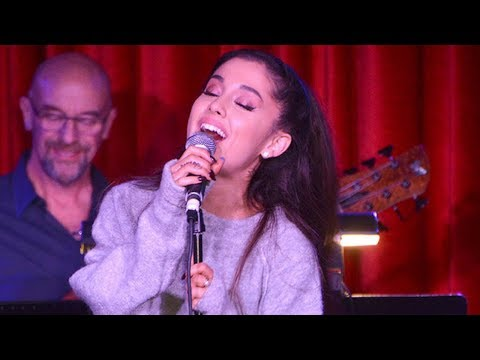 Ariana Grande Singing Broadway