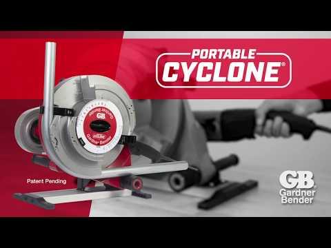GB Portable Cyclone - Powered Conduit Bender (B1000)