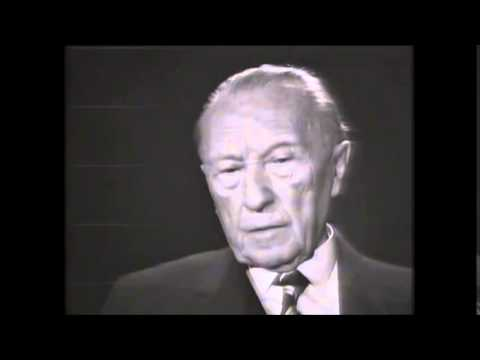 Chancellor Adenauer on France and the Jews [English/German subtitles]