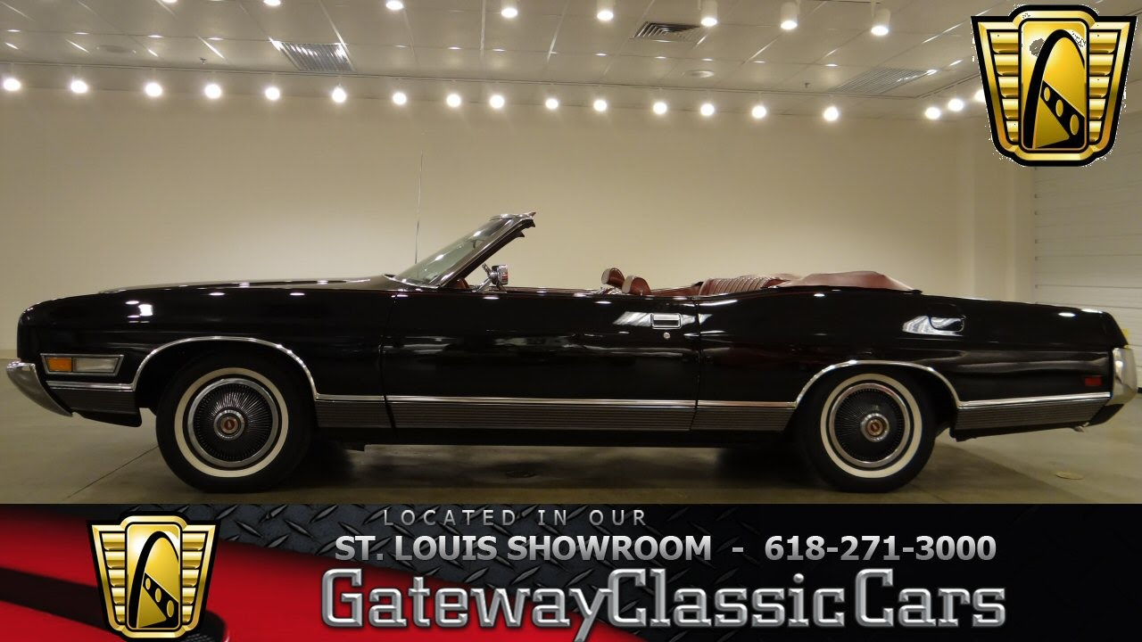1972 Ford Ltd Convertible Gateway Classic Cars St Louis
