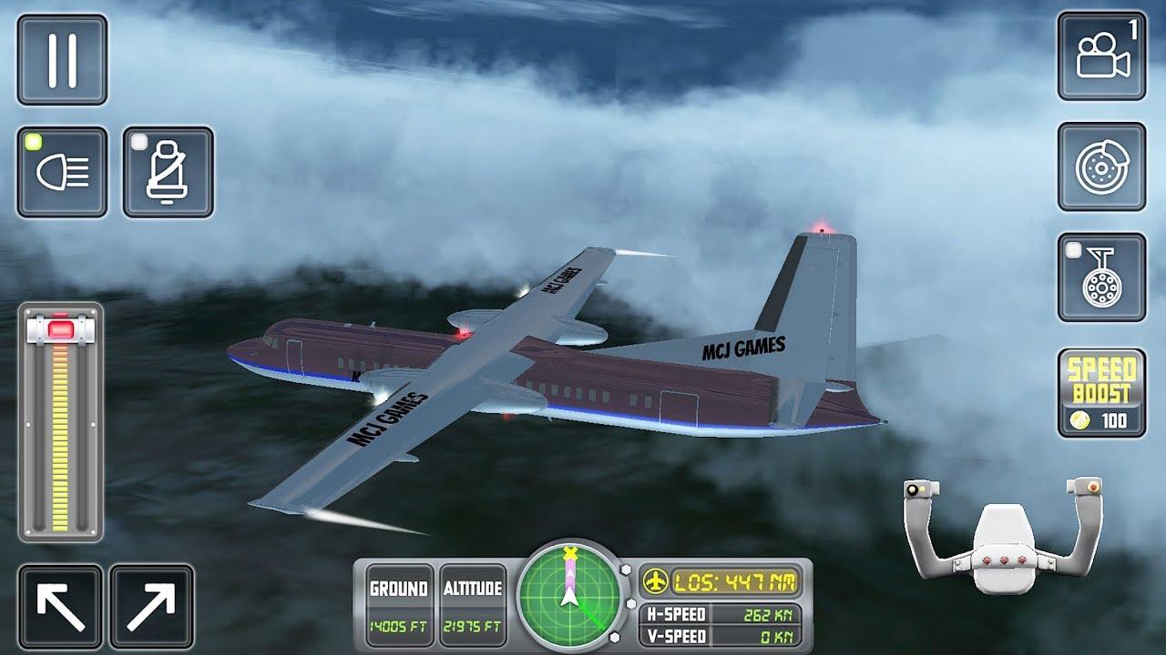 Flight Sim 2018 (Ovilex Software) #4 - Flight Game Android/iOS Gameplay FHD