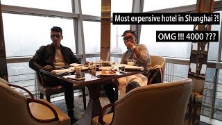 Vlog_12 How's the most expensive hotel in shanghai looks like ?!