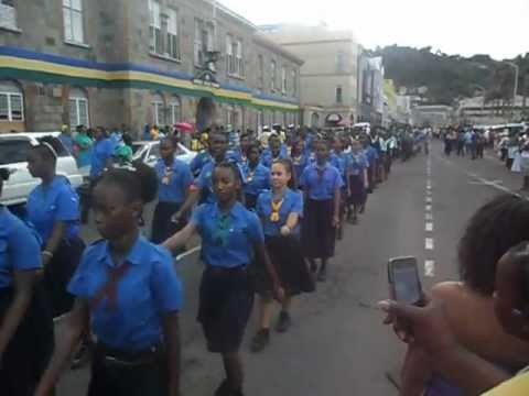SVG Independence Parade 2012