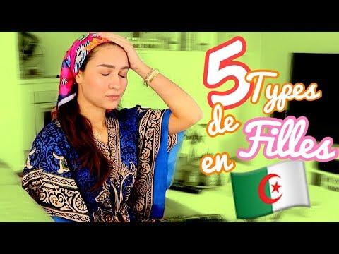 5 Types de Filles en ALGERIE 💁🏻♀️🇩🇿 (En arabe/VOSTFR)