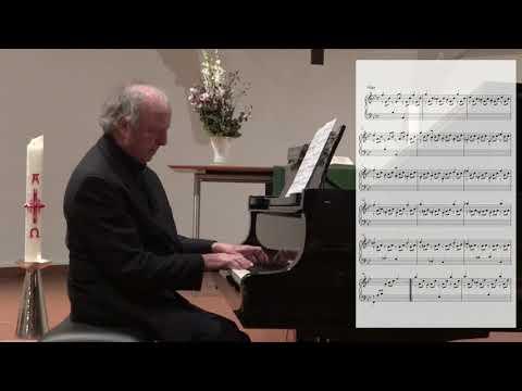 Johann Sebastian Bach   Gigue - Partita Nr. 1   B-Dur   BWV 825   Wolfdietrich Stephan