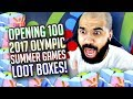 COOL KID OPENS 100 SUMMER GAMES 2017 LOOTBOXES
