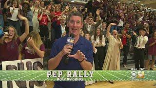 Wrap-Up Of CBS 11 Rowlett High School Pep Rally