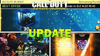 New Update - No Dupe Bundle, New Boss Battles, & Free Epics (IW New Update)
