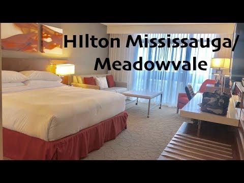Hilton Hotel Mississauga/Meadowvale Room Tour