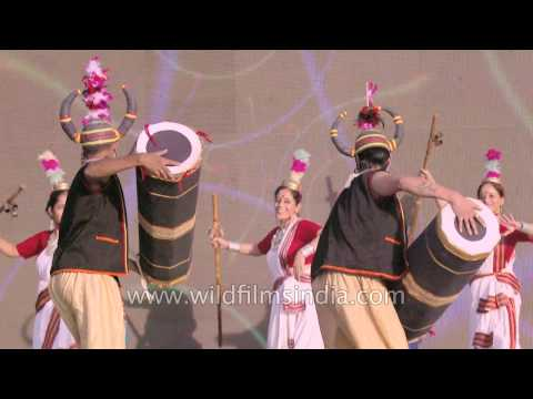Gond and other tribal dances of India: slow motion exatravaganza