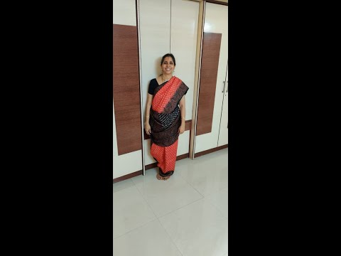 6 Yards Saree  Into An Iyengar Madisar