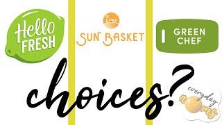 2021 Review: Hello Fresh vs Sun Basket vs Green Chef! *Not Sponsored* || Everyday Noms