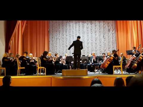 В.А. Моцарт - Симфония № 40. Гомельский симфонический оркестр. Главный дирижер - Мурад Ассуил
