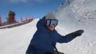On the slopes with Jenny Jones and Billy Morgan