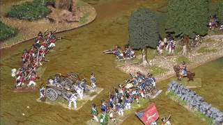 Battle 66. American War of Independence. (with commentary). Black Powder.