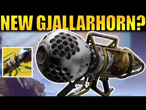 Destiny 2: The NEW GJALLARHORN? Wardcliff Coil Exotic Rocket Launcher