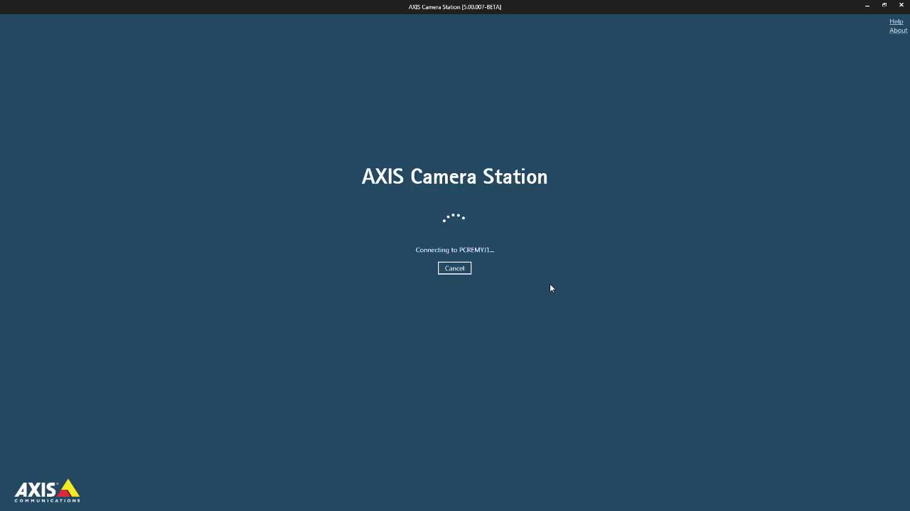 AXIS Camera Station – Upgrade from AXIS Camera Station 4 to version 5