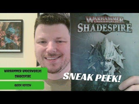 Warhammer Underworlds Shadespire - Quick Review