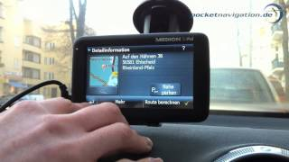 MEDION GoPal Navigator 7 - Die intelligente Spracheingabe im Test