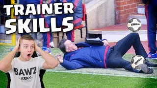 TOP 10 VOETBAL TRAINER SKILLS!!