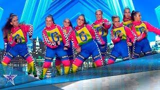 Este GRUPO de BAILE demuestra que son LA CAÑA | Audiciones 8 | Got Talent España 5 (2019)