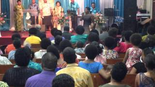 When He was on the Cross - Kiti Leba Niumataiwalu (cover)