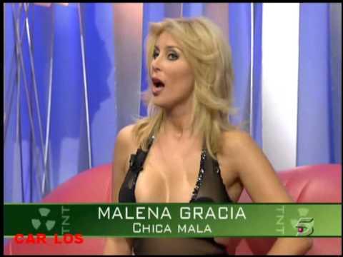 Presentacion de Chica mala en TNT streptease