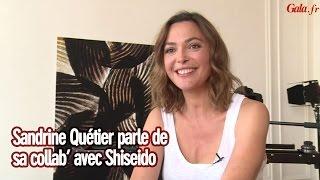 Interview : Sandrine Quétier évoque sa collaboration avec Shiseido