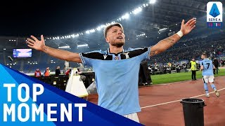 Immobile Scores His 20th League Goal of the Season! | Lazio 1-0 Napoli | Top Moment | Serie A TIM