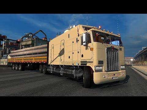 ETS2] Kenworth K100 Long Frame - TravelerBase - Traveling Tips ...