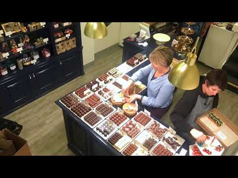 Loading Up On Chocolate @ Love + Chocolate ~ Leonidas Belgian Chocolates