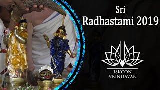 Sri Radhastami Abhishek