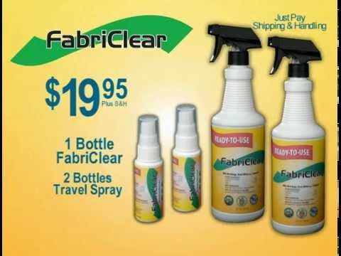 fabriclear   as seen on tv - youtube