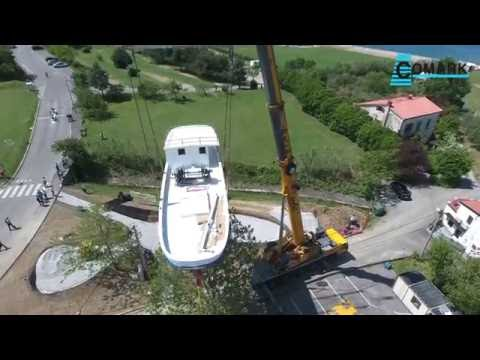 Convoi Exceptionnel - 5,45 meters height - Old Boat BISER