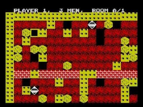 Boulder Dash Walkthrough, ZX Spectrum