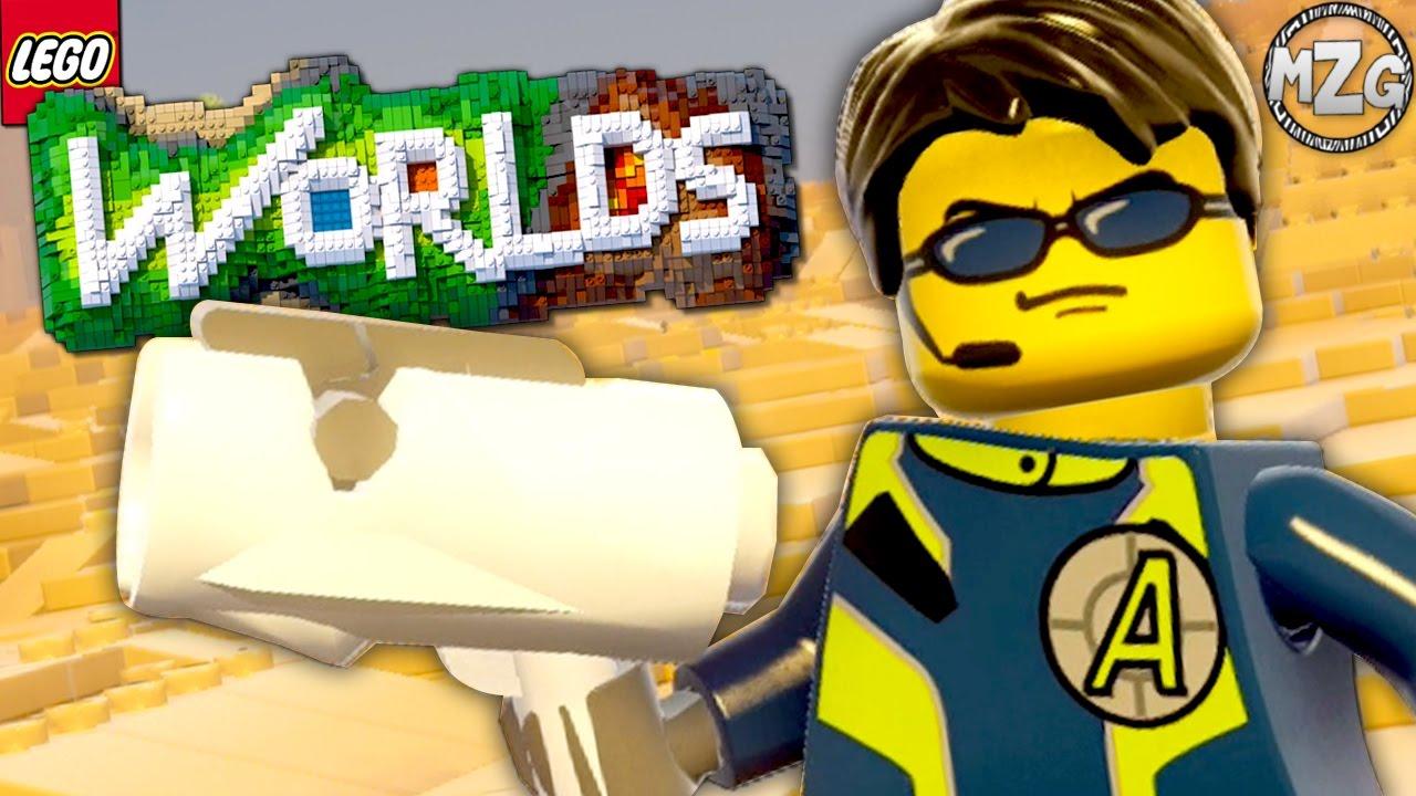 lego agents dlc pack lego worlds ps4 gameplay youtube. Black Bedroom Furniture Sets. Home Design Ideas