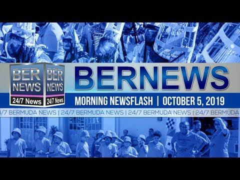 Bermuda Newsflash For Saturday, October 5, 2019